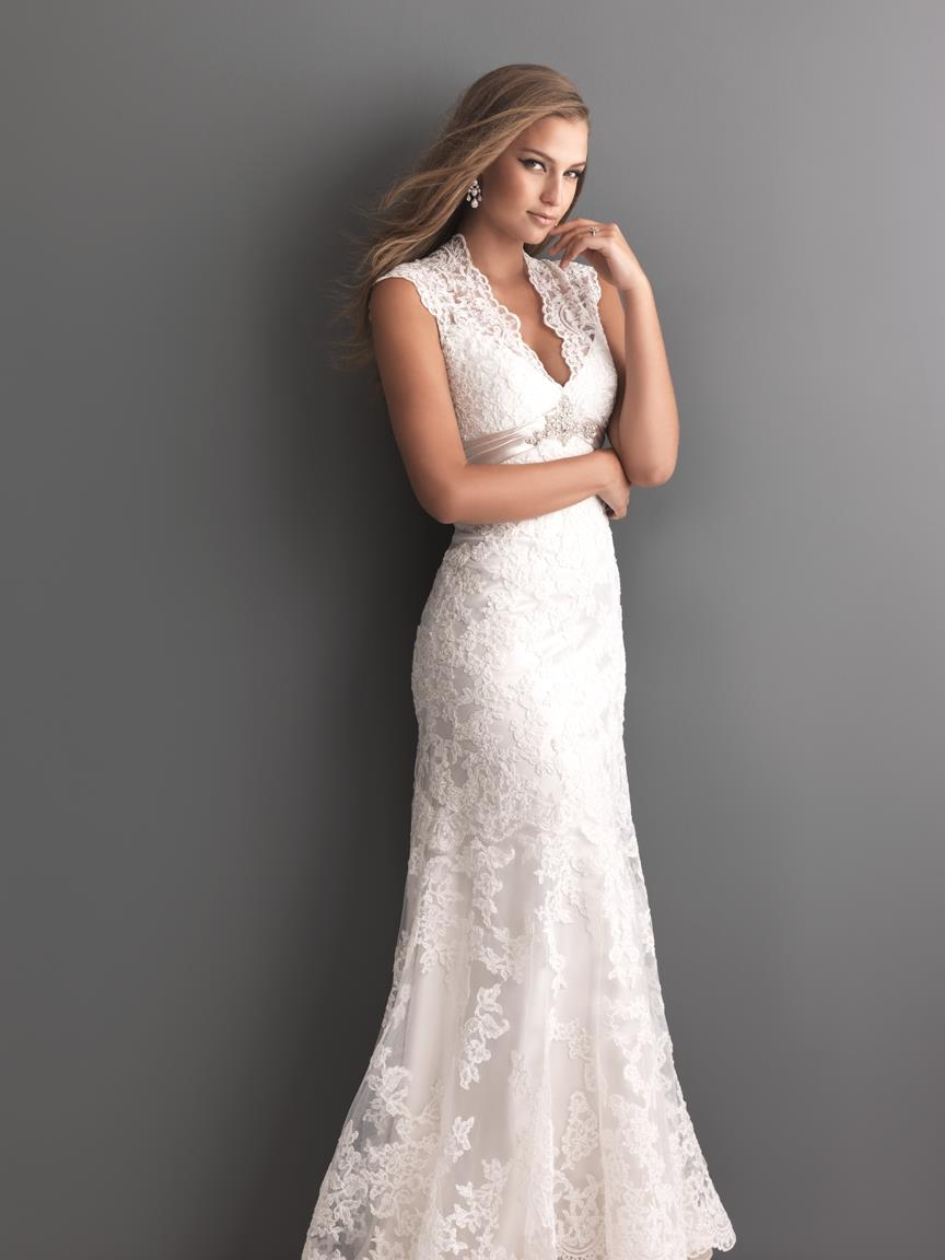 Allure romance dress bridal gowns for Allure romance wedding dress
