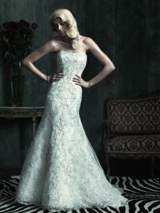 Oakville Wedding Bridal Gowns Allure Couture  Style No. 8488