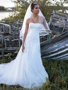 Wedding Bridal Gowns Davids Bridal  David's Bridal Collection     Style V3469   Woodbridge