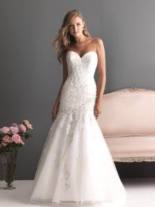 Vaughan Wedding Bridal Gowns Allure Romance Dress  Style 2613