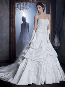 Wedding Bridal Gowns Davids Bridal   LUXE     Style PWG3497   Woodbridge