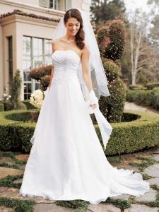 Wedding Bridal Gowns Davids Bridal   Style V9409    Woodbridge