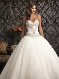 Wedding Bridal Gowns Allure Bridals  Allure Bridal   Style #9017   Richmond Hill