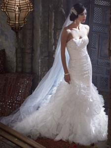 Wedding Bridal Gowns Davids Bridal  Galina Signature    Style SWG560   Richmond Hill