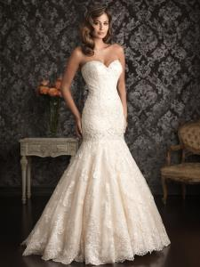 Markham Wedding Bridal Gowns Allure Bridals  Style No. 9018