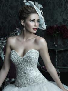 Wedding Bridal Gowns Allure Couture  Style No. C222        Richmond Hill