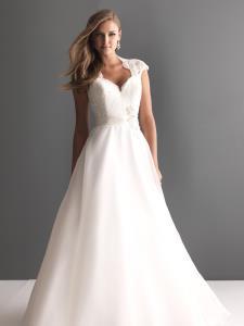 Newmarket Wedding Bridal Gowns Allure Romance Dress  Style 2611