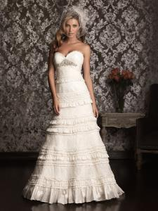 Wedding Bridal Gowns Allure Bridals  Style No. 9011    Newmarket