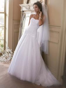 Wedding Bridal Gowns Davids Bridal   Style V3558   Vaughan