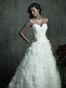 Markham Wedding Bridal Gowns Allure Couture  Style No. C157