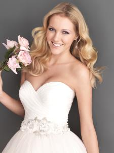 Markham Wedding Bridal Gowns Allure Romance Dress  Style 2607