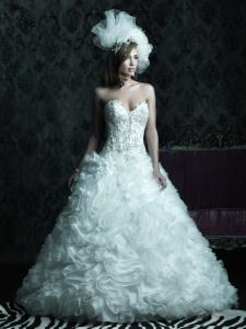 Wedding Bridal Gowns Allure Couture  Style No. C229   Newmarket