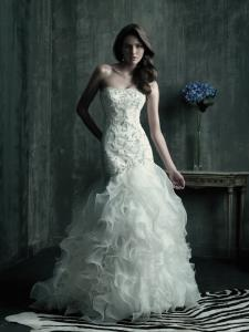 Wedding Bridal Gowns Allure Couture  Style No. C181   Vaughan