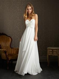 Wedding Bridal Gowns Allure Romance Dress  Style 2504   Newmarket